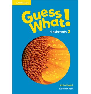 Guess What! Level 2 Flashcards (pack of 91) British English