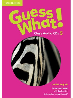 Guess What! Level 5, Class Audio CDs (3) British English