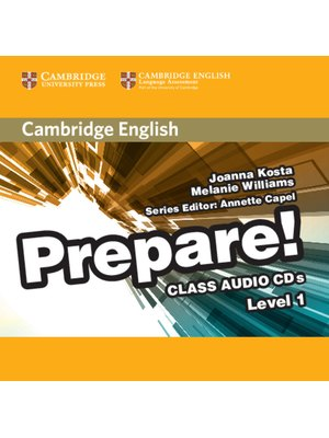 Prepare! Level 1, Class Audio CDs (2)