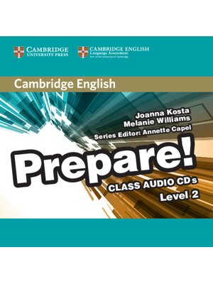 Cambridge English Prepare! Level 2 Class Audio CDs (2)