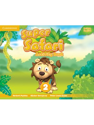 Super Safari Level 2, Activity Book