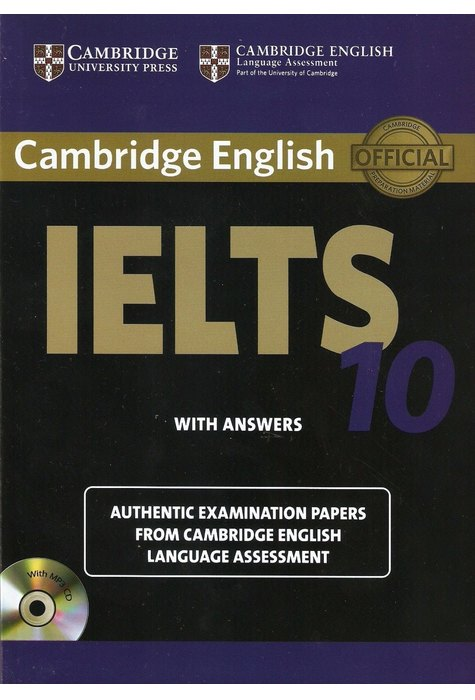 Cambridge IELTS 10 Student's Book with Answers with Audio