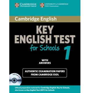 Cambridge KET for Schools 1 Self-study Pack (Student's Book with Answers and Audio CD)