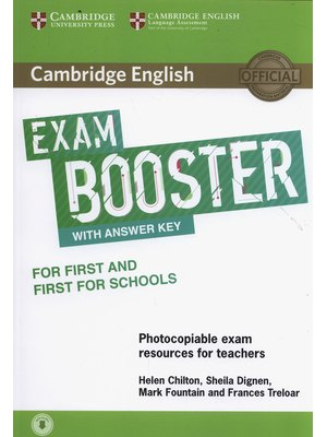 Exam Booster for First and First for Schools with Answer Key with Audio