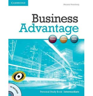 Business Advantage Intermediate, Personal Study Book with Audio CD