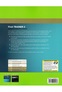 First Trainer 2, Six Practice Tests with Answers with Audio
