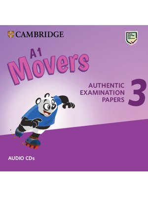 Movers 3, Audio CDs A1 for Revised Exam from 2018