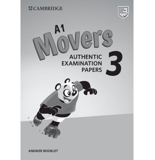Cambridge English Young Learners 3 for Revised Exam from 2018 A1 Movers Answer Booklet