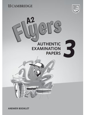 A2 Flyers, Answer Booklet for Revised Exam from 2018