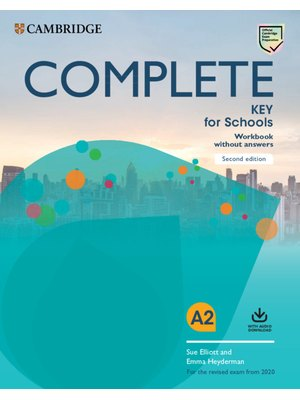 Complete Key for Schools 2nd Edition Workbook without Answers with Audio Download