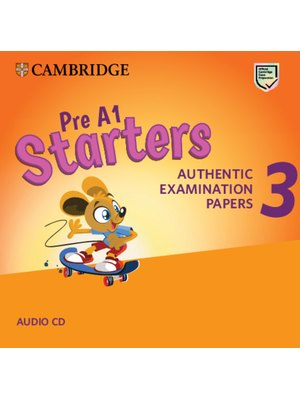 Cambridge English Young Learners 3 for Revised Exam from 2018 Pre A1 Starters Audio CDs