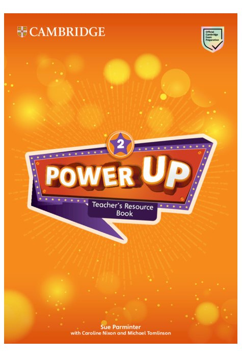 Power Up Level 2 Teacher's Resource Book with Online Audio