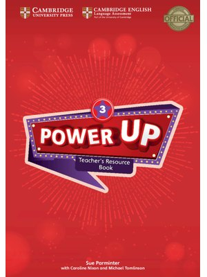 Power Up Level 3 Teacher's Resource Book with Online Audio