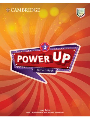 Power Up Level 3 Teacher's Book (spiral bound)