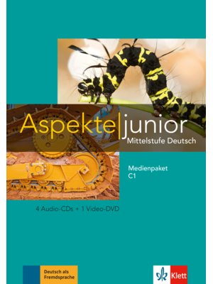 Aspekte junior C1, Medienpaket (4 Audio-CDs + Video-DVD)