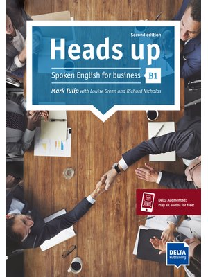 Heads up B1 2nd ed. Student's Book with audios online