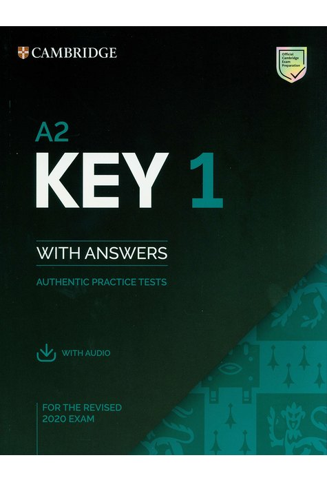 A2 Key 1, Student's Book with Answers with Audio