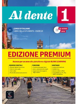 Al dente 1 su Blink Learning – edizione Premium Libro + CD audio + DVD