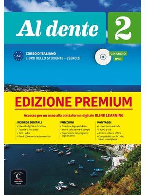 Al dente 2 su Blink Learning – edizione Premium Libro + CD audio + DVD