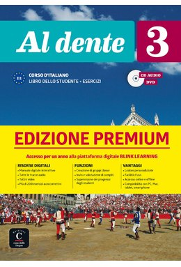 Al Dente 3 Libro dello studente +CD+DVD