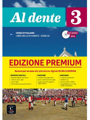 Al dente 3 su Blink Learning – edizione Premium Libro + CD audio + DVD