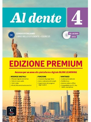 Al dente 4 su Blink Learning – edizione Premium Libro + CD audio + DVD