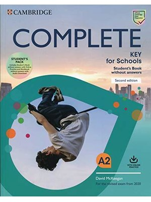 Complete Key for Schools 2nd ed. Student's Book without Answers with Online Practice and Workbook without Answers with Audio Download