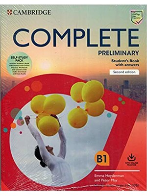 Complete Preliminary Self Study Pack (SB w Answers w Online Practice and WB w Answers w Audio Download and Class Audio) For the Revised Exam from 2020