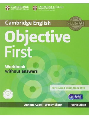 Objective First Student's Pack (Student's Book without Answers with CD-ROM, Workbook without Answers with Audio CD)