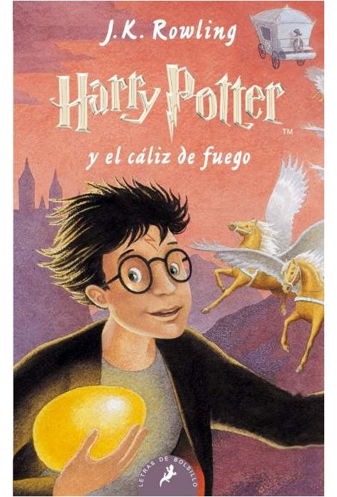 Harry Potter IV - El Caliz De Fuego