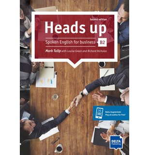Heads up B2 2nd ed. Student's Book with audios