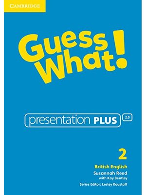 Guess What! Level 2 Presentation Plus British English DVD-ROM