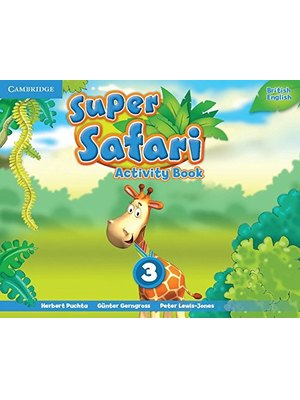 Super Safari Level 3, Activity book
