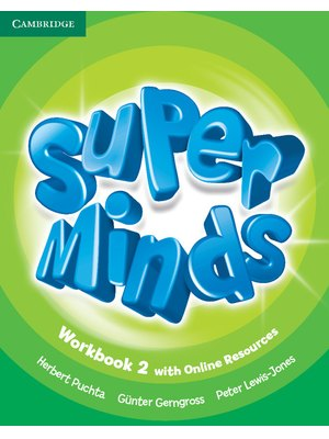 Super Minds Level 2, Workbook with Online Resources