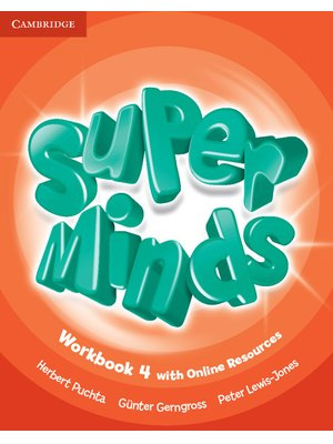 Super Minds Level 4, Workbook with Online Resources