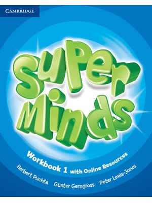 Super Minds Level 1, Workbook with Online Resources