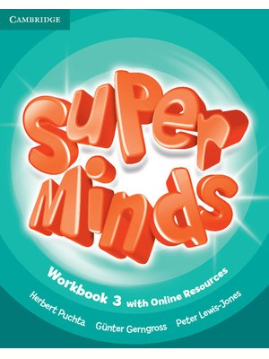 Super Minds Level 3, Workbook with Online Resources