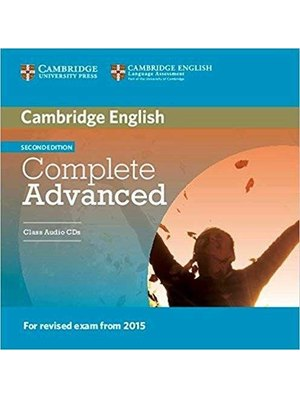 Complete Advanced, Class Audio CDs (2)