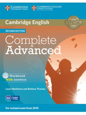 Complete Advanced Workbook with Answers with Audio CD