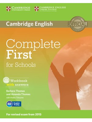 Complete First for Schools, Workbook with Answers with Audio CD