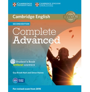 Complete Advanced Student's Book without Answers with CD-ROM