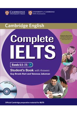 Complete IELTS Bands 6.5-7.5 Student's Pack (Student's Book with Answers with CD-ROM and Class Audio CDs (2))