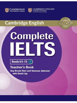 Complete IELTS Bands 6.5-7.5 Teacher's Book
