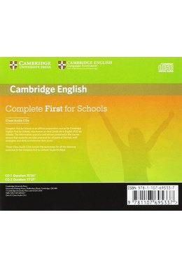 Complete First for Schools, Class Audio CDs (2)