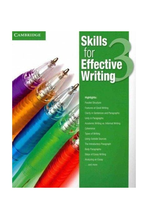 Skills for Effective Writing Level 3 Student's Book