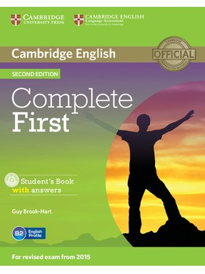 Complete First, Student's Book with Answers with CD-ROM