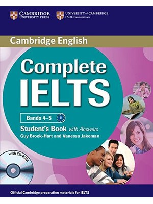 Complete IELTS Bands 4-5, Student's Book with Answers with CD-ROM