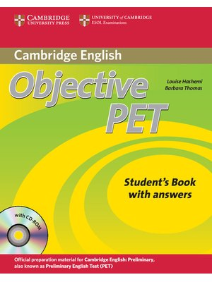 Objective PET, Student's Book with answers with CD-ROM
