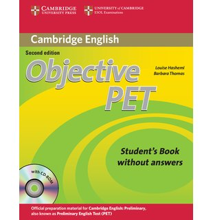 Objective PET Student's Book without Answers with CD-ROM