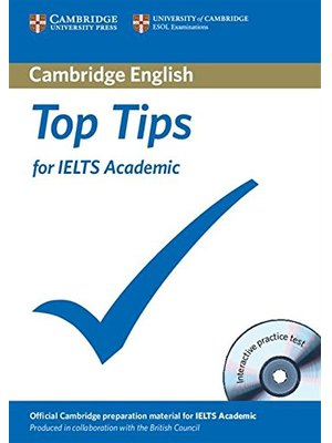 Top Tips for IELTS Academic, Paperback with CD-ROM